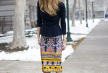 Wear // Prints / Printed street style inspiration