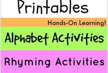 educational / educational tools and sensory craft ideas