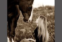 for the love of america,horses,and cowboys / by Tina Brooks
