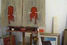 Atelier d'artista Luca Serasini / Ogni artista ha un luogo privilegiato di ispirazione e di lavoro