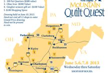 West Virginia Mountain Quilt Quest