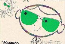 Eyewear 1 / Board full / by Diane Johnson