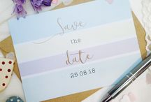 Save the date cards / To match the design of our wedding planners we  have launched our Save the date cards.