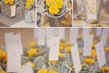 wedding yellow&grey