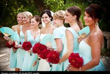 Palette: Turquoise & Red / event decor in turquoise & red