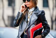OUTFITS WITH LEATHER JACKET