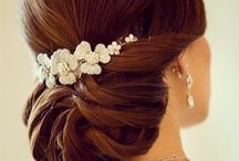 C'est L'amour Wedding and Event Planner hair inspiration / This is C'est L'amour wedding and event planners inspiration for your bride and bridesmaids hair styles