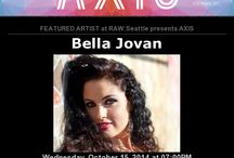 Featured Belly Dance at AXIS for RAW Artist October 15th 2014