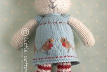Knitting / Knitted bunny
