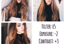 Instagram! / For filters, selfie inspirations, makeup and feed