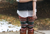 Fall & Winter Clothes / by Brittney Newberry