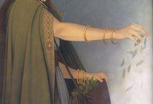 diosas vírgenes leyendas mitos historias