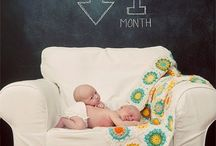 newborn picture inspiration / by Audrey Amaro