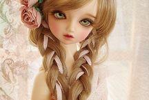 cabelo de bonecas