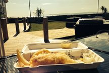 Si! Shack @ The Waterside / Brand new concept from @simpsinns bringing al fresco dining to a new level. Posh fish 'n chips, food-to-go or dine in our rustic Si! Shack with panoramic views to the the Isle of Arran