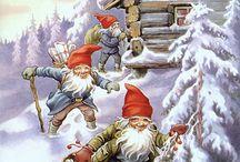 Christmas card Europe