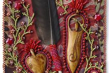 beading / by MagpieGoldwork .