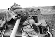 World War II - Destroyed Tanks
