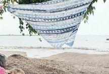 Sweet blankets / Kaikenkokoisia, - näköisiä peittoja virkaten tai neuloen...
