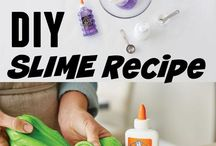 Slime and play dough recipes and ideas galore