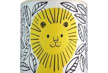 Yellow Nursery Decor / A little splash of sunshine-y yellow to brighten your child's space. #yellow #nurserydecor #nurserywallart #kidsroomdecor
