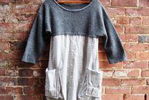 recycler pull et chemise en tunique robe