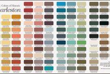 Paint Colors of Historic Charleston
