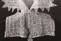 lace, knitting and tatting