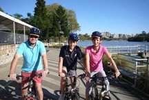 Cycling / New to town, or just want to take an easy ride through Brisbane's inner city hot spots? Ride for fun or fitness and explore over 20 km of Brisbane's inner city bikeway!
