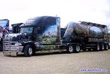 Camions Américains / Le monde des gros tracteurs américains