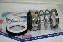 Mechanical Seal / mechanical seal will sport a softer face and the surface will be narrower for easy connectivity. Surface of the seal should be rugged enough to sustain abrasive applications when hydrostatic fluids or tungsten carbide flows through.   Buy Mechanical Seal from http://www.sealsales.com