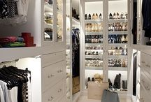 Dream wardrobe / We all just want a heavenly walk-in closet, right?!