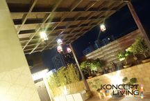 Roof Garden and Pent House Design Ideas / Konceptliving Interior Design and Decoration Ideas. Konceptliving New Roof Garden and Pent House Design Ideas.