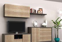Salón TAMARA / Salón modelo TAMARA. Composición modular comedor, combinación 2 colores. Daicar Mobel Bell Lloc d'Urgell - Lleida #daicarmobel #fabrica #muebles #interiorismo