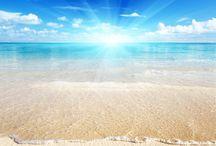 Sunny beaches & Clear Blue Water :) / Beach, sea, ocean, blue sky, clouds, sunshine, sunny