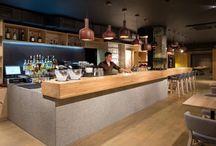 Bar, café e restaurante