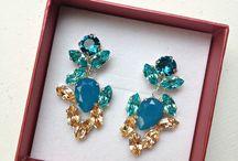Jewelry { Crystals / Handmade / Swarovski }