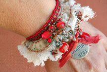 locker-hook bracelets
