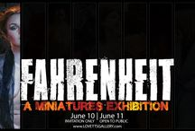 Fahrenheit Exhibition / Fahrenheit Exhibition at Lovetts Gallery, coming June 10th and 11th!