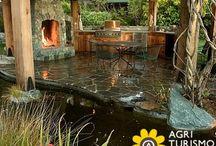 Idee per il giardino !! / Quante cose possiamo fare in giardino !! gazebi e decorazioni per rilassarci nel nostro #agriturismo preferito
