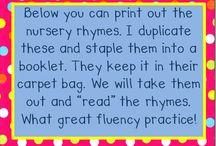 Nursery Rhymes and Rhyming