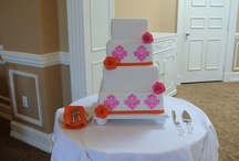 Wedding Cakes / Wedding cakes are my favorite to make!  (And the most stressful!)