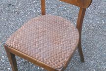 Стулья (реставрация) / Нам на реставрацию попали исторические стулья из бука. Уже нет государства Чехословакия и нет тех, кто их делал... А стулья еще крепки и прослужат долгие годы.