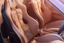 custom leather interior car Færdig