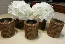 Dining table center piece / by Deanna Candelaria