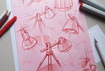 Product Design / Lamp Sketches and other relevancies