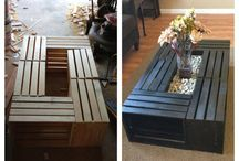 Ideas con huacales y Pallets