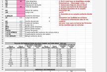 tablas de medidas