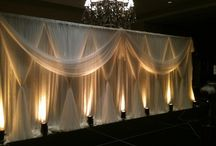 Draping & lighting