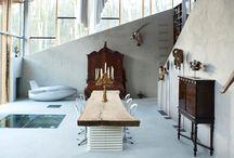 Interior // Espacios // Interiores / Curación de contenido cultural // Cultural content curation: Interior // Espacios // Interiores / by Enlaestanteria .com